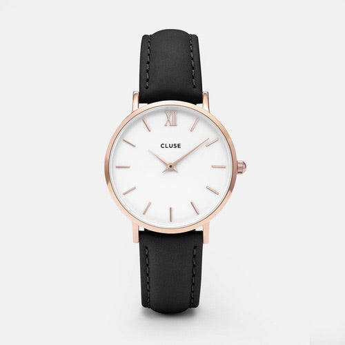 Minuit Rose Gold White/Black
