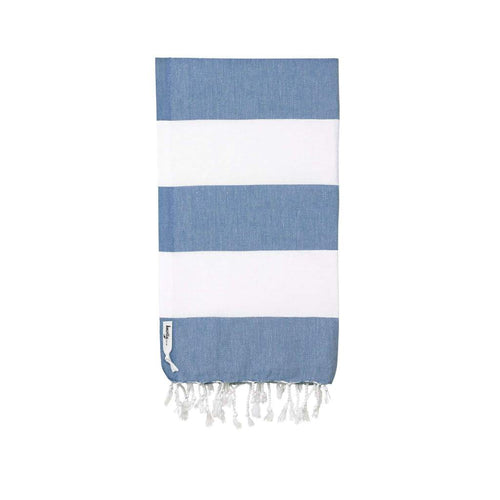 Capri Turkish Towel - Denim