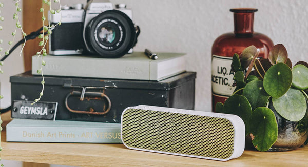 Agroove White Wireless Speaker