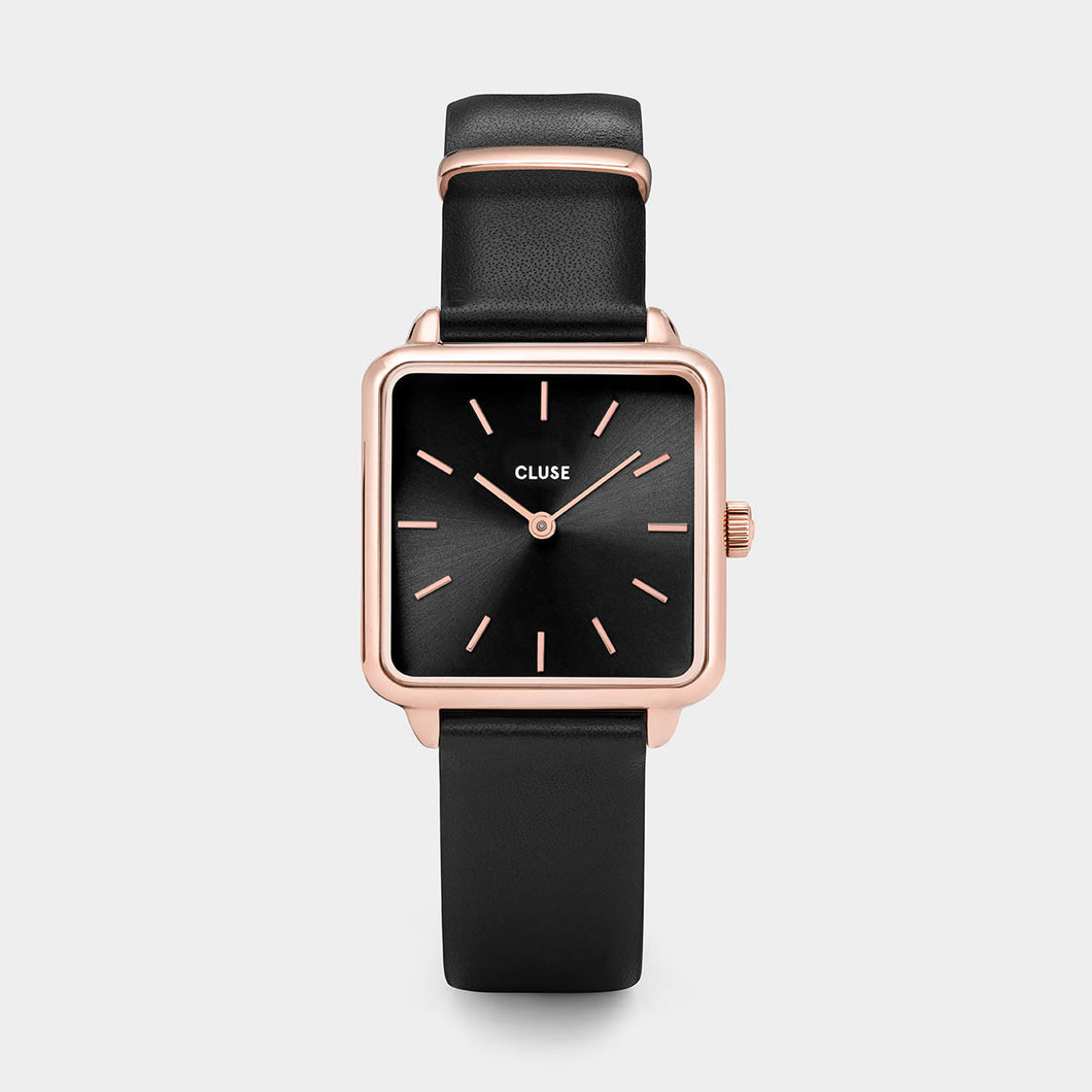 La Tetragone Rose Gold Black/Black