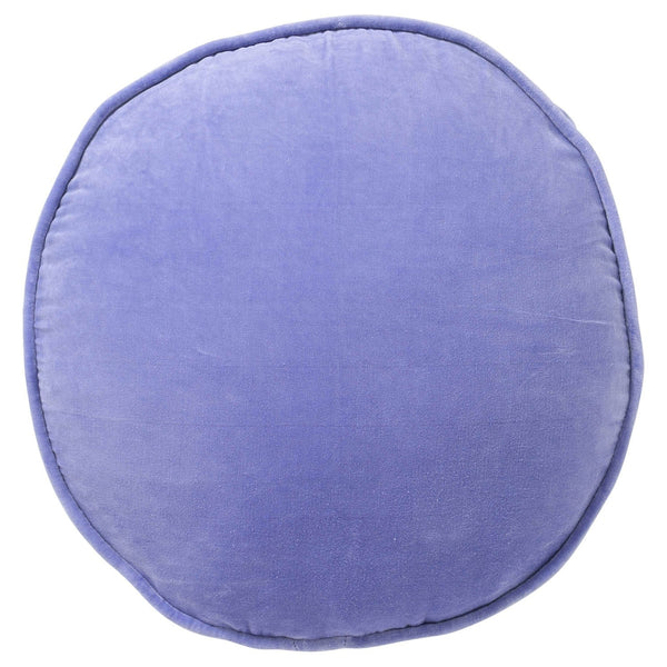 Lilac Jewel Velvet Pea Cushion