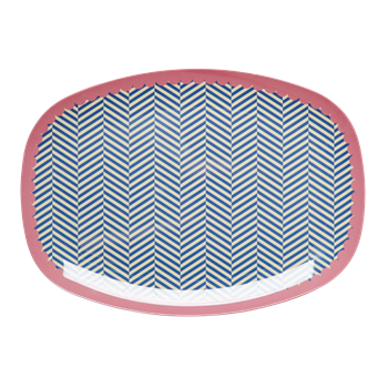 Melamine Sailor Stripe - Plate / Cup / Bowl