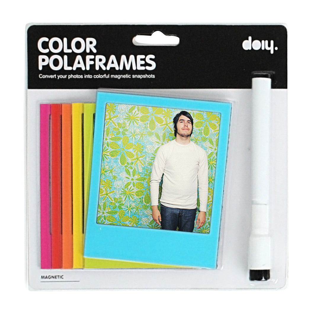 Magnetic Colour Polaframes