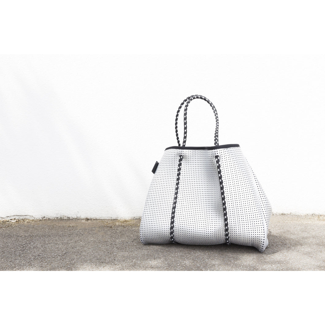 The Sterling Bag - Metallic Silver