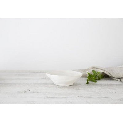 Flax Fruit Bowl - Snow 19cm