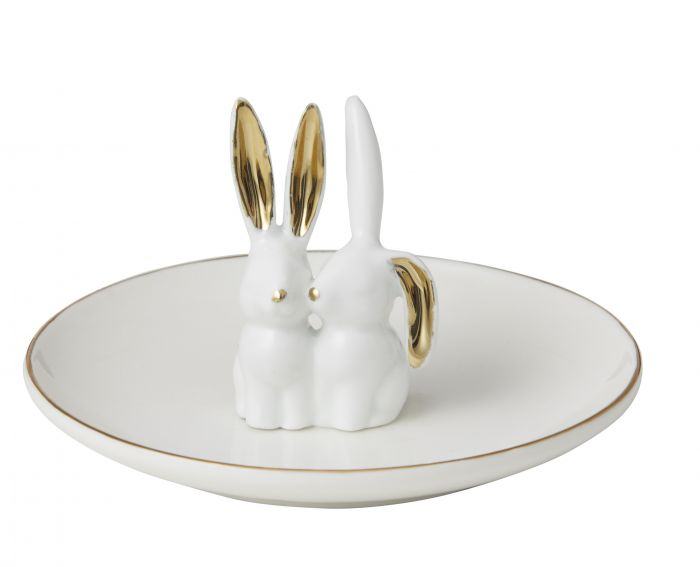 Bunny Friends Plate