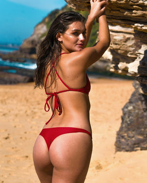 MOTU SWIM - ISLA Bottoms - Ruby