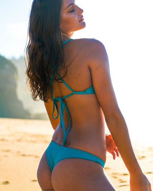 MOTU SWIM - ISLA Bottoms - Turquoise