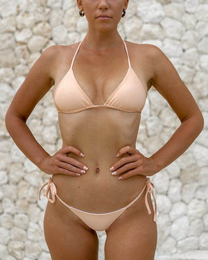 MOTU SWIM - NUSA Top - Almond/White