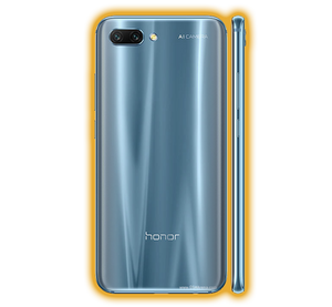 Honor 10 - Brushed Metal Skins / Wraps