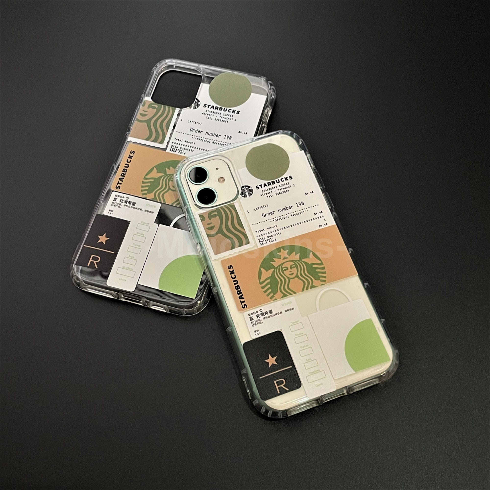 Iphone Starbucks Casing (Transparent)