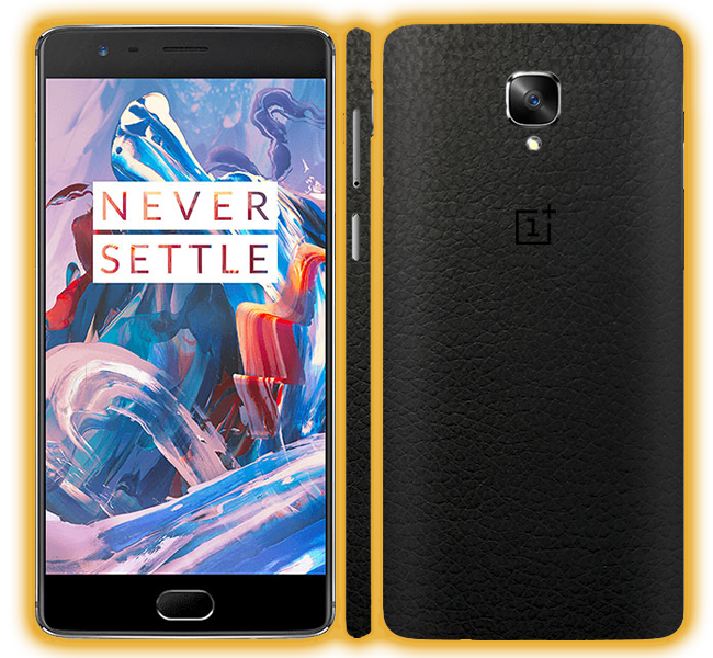 OnePlus 3T - Leather Skins / Wraps
