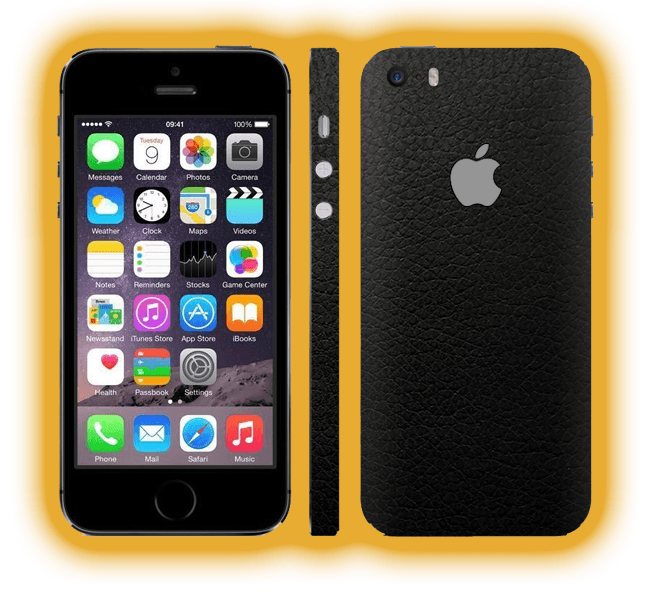 save off 64be4 c5ee2 iPhone 5s - Leather Skins / Wraps