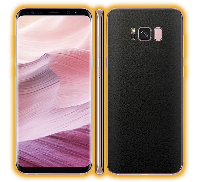 Galaxy S8 - Leather Skins / Wraps