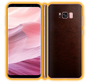 Samsung Galaxy S8 Plus - Leather Skins / Wraps