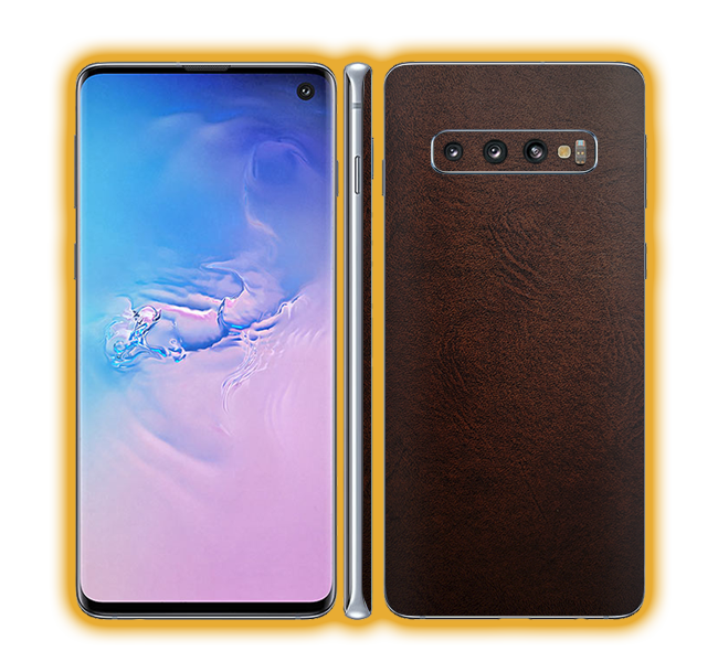 Galaxy S10 - Leather Skins / Wraps