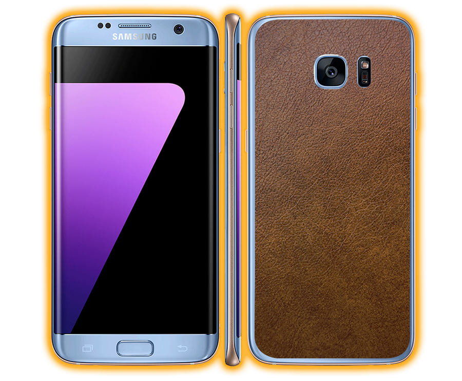 Galaxy S7 - Leather Skins / Wraps