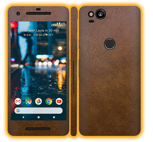 Google Pixel 2 - Leather Skins / Wraps