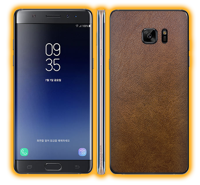 Galaxy Note FE - Leather Skins / Wraps
