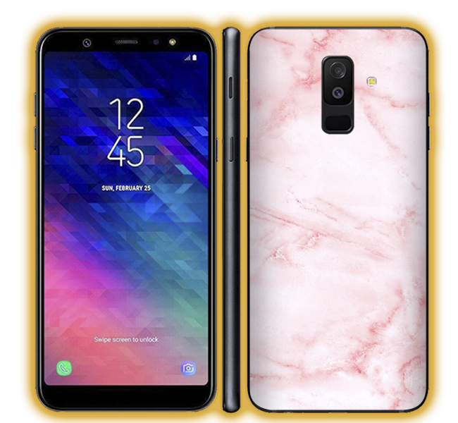 Galaxy A6 Plus - Marble Skins / Wraps