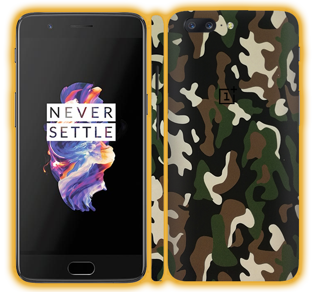 best website 2469f b12e6 OnePlus 5 - Camouflage Skins / Wraps