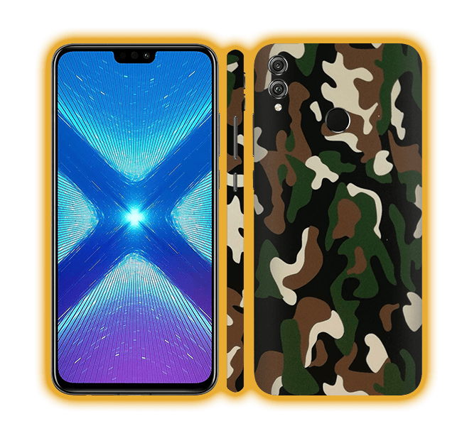 Honor 8X - Camouflage Skins / Wraps