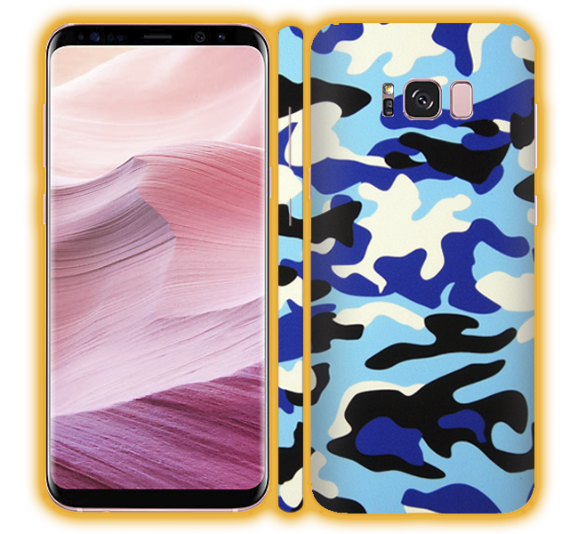 Galaxy S8 - Camouflage Skins / Wraps