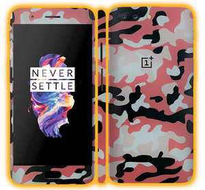 OnePlus 5 - Camouflage Skins / Wraps