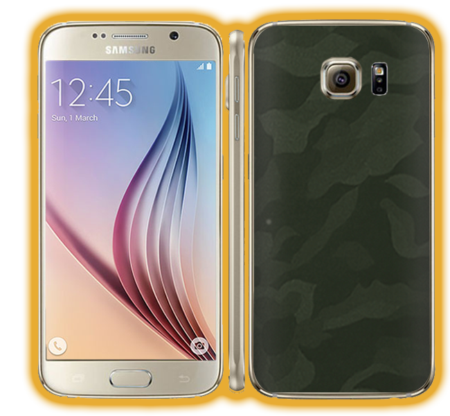 Galaxy S6 - Camouflage Skins / Wraps