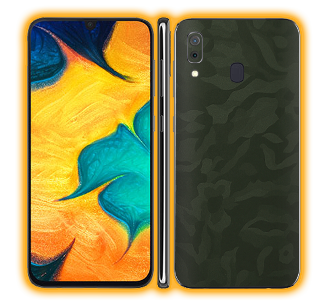 Galaxy A30 - Camouflage Skins / Wraps