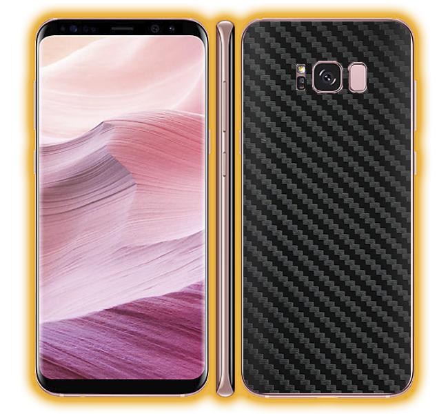 Galaxy S8 - Carbon Fiber Skins / Wraps