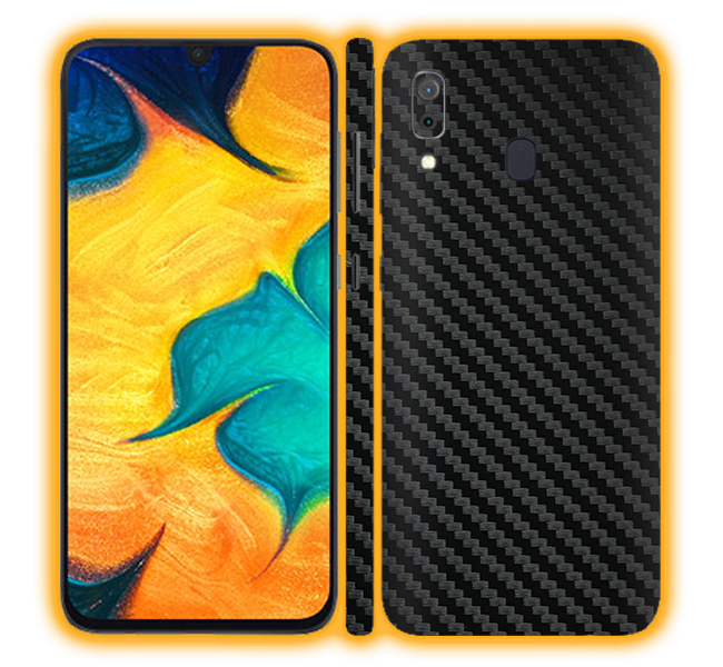 Galaxy A30 - Carbon Fiber Skins / Wraps
