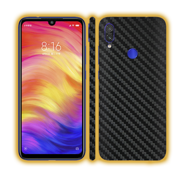 Redmi Note 7 - Carbon Fiber Skins / Wraps