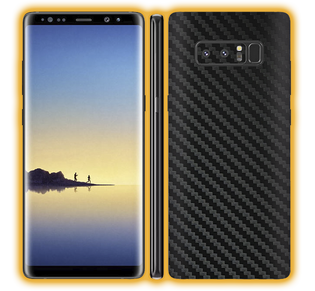Galaxy Note 8 - Carbon Fiber Skins / Wraps