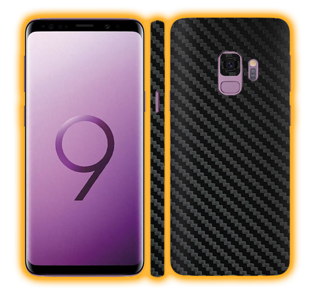 Galaxy S9 - Carbon Fiber Skins / Wraps