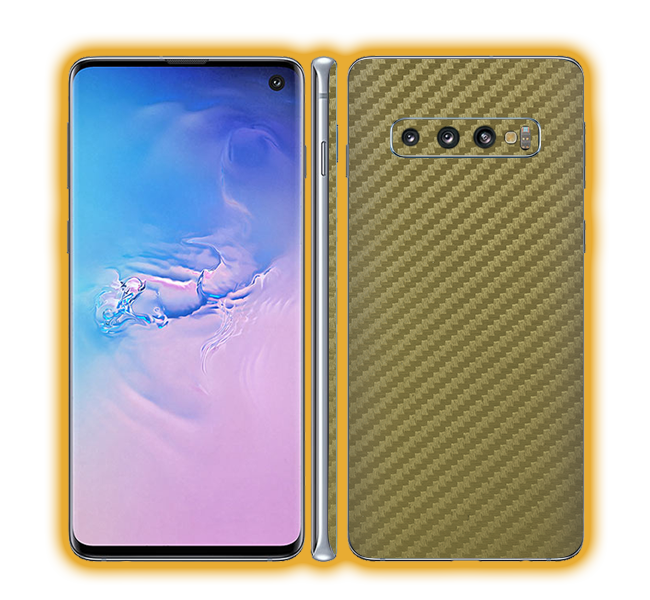 Galaxy S10 - Carbon Fiber Skins / Wraps