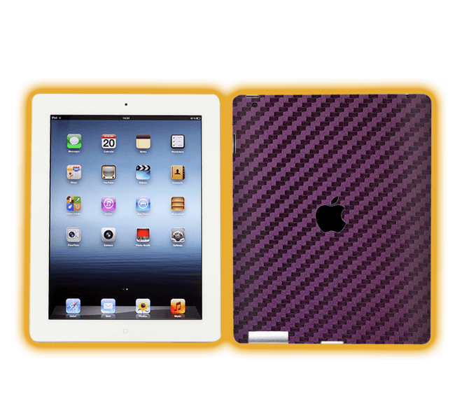 Ipad 4 - Carbon Fiber Skins / Wraps