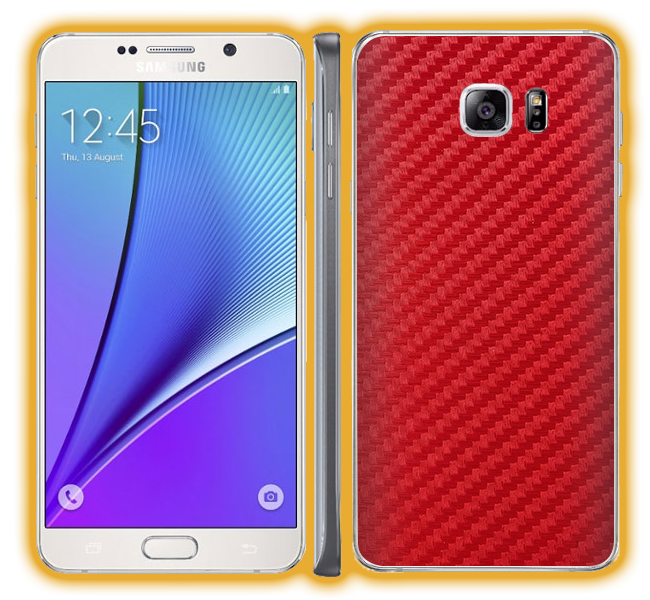 Galaxy Note 5 - Carbon Fiber Skins / Wraps