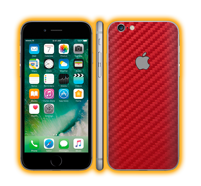iPhone 6s Plus - Carbon Fiber Skins / Wraps
