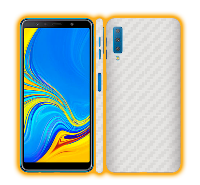 Galaxy A7 (2018) - Carbon Fiber Skins / Wraps