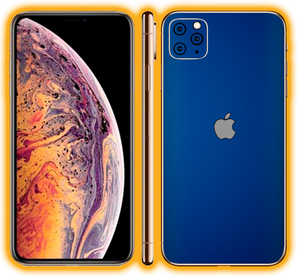 iPhone 11 Pro Max  - Chrome Matte Skins / Wraps