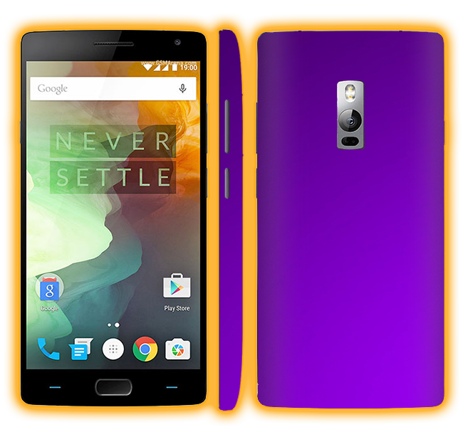 OnePlus 2 - Chrome Matte Skins / Wraps