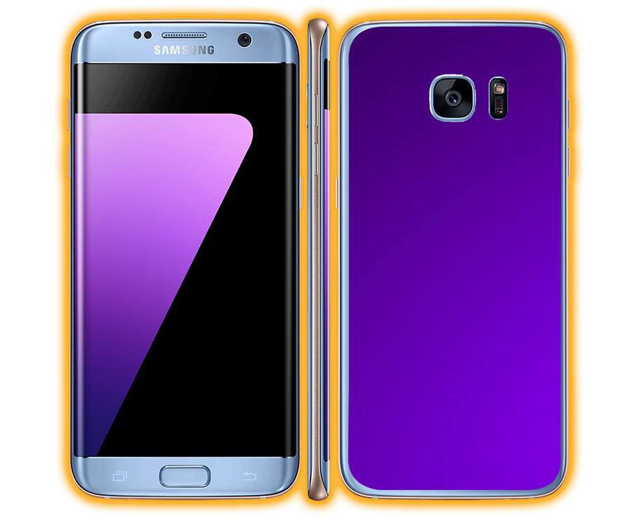 Galaxy S7 - Chrome Matte Skins / Wraps