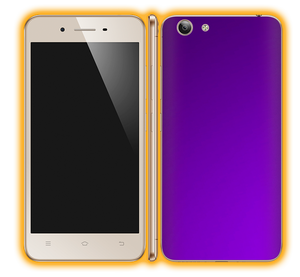 Vivo Y53 - Chrome Matte Skins / Wraps