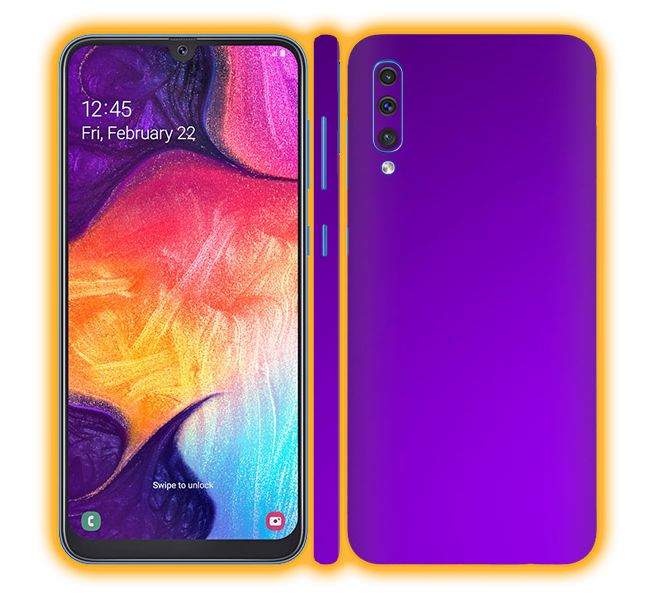 Galaxy A50 - Chrome Matte Skins / Wraps