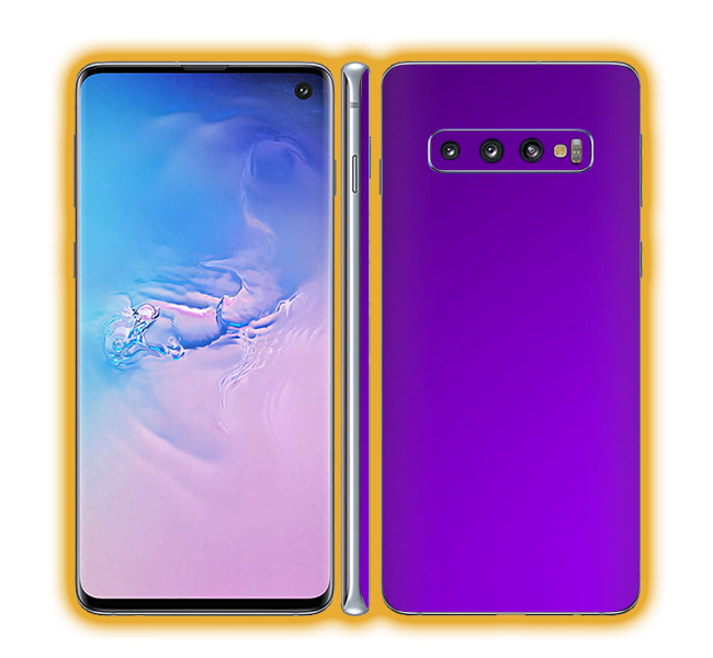 Galaxy S10 - Chrome Matte Skins / Wraps