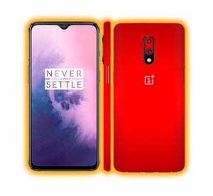 OnePlus 7  - Chrome Matte Skins / Wraps