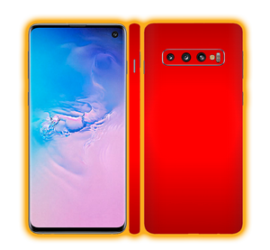 Samsung Galaxy S10 - Chrome Matte Skins / Wraps