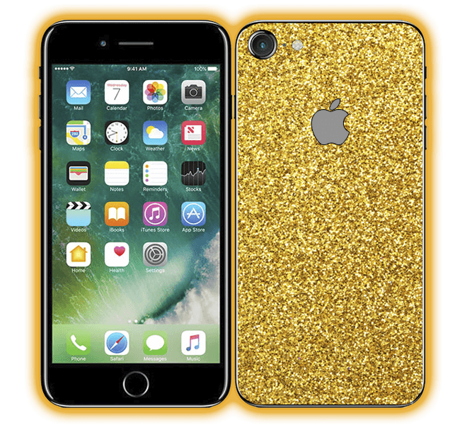 iPhone 8 - Glitter Skins / Wraps