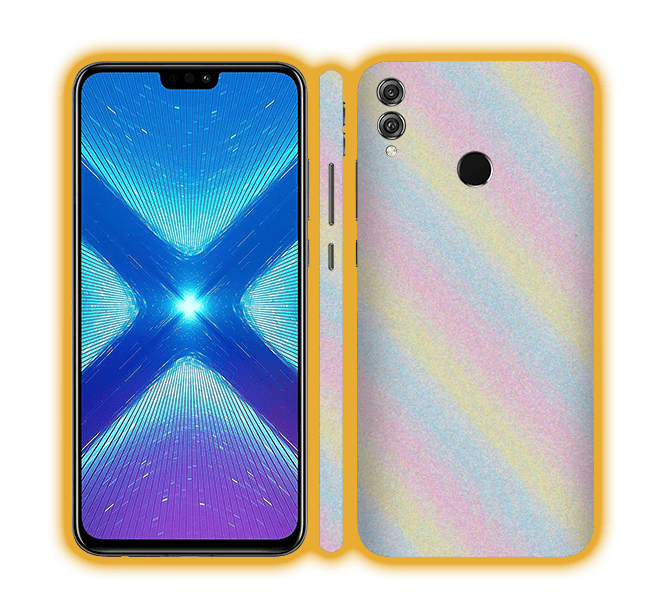Honor 8X - Glitter Skins / Wraps